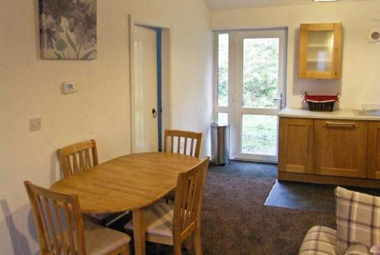 Kitchen/diner, Dog-Friendly Conwy Valley Cottage, Conwy