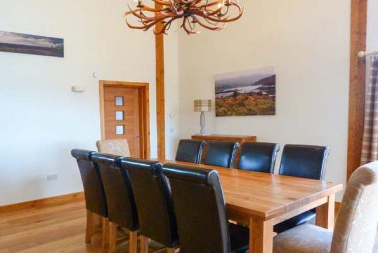 Stylish interior at Atlas Holiday Lodge