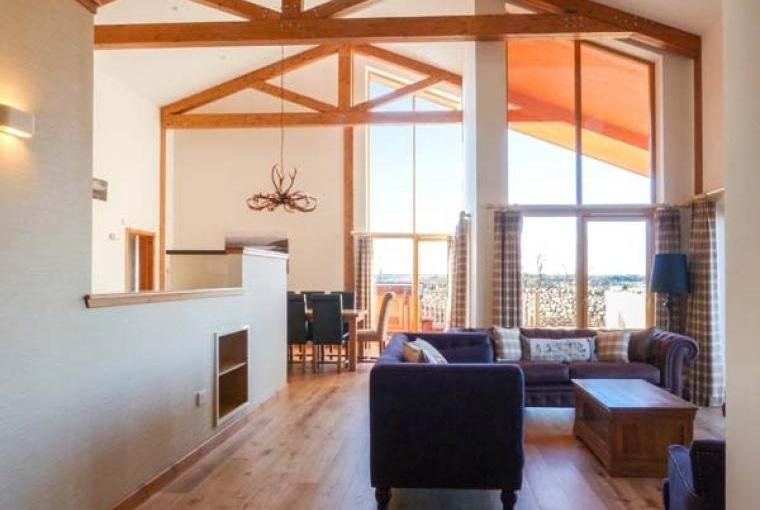 Open plan living Atlas Holiday Lodge
