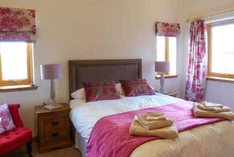 Bedrooms at Atlas Holiday Lodge