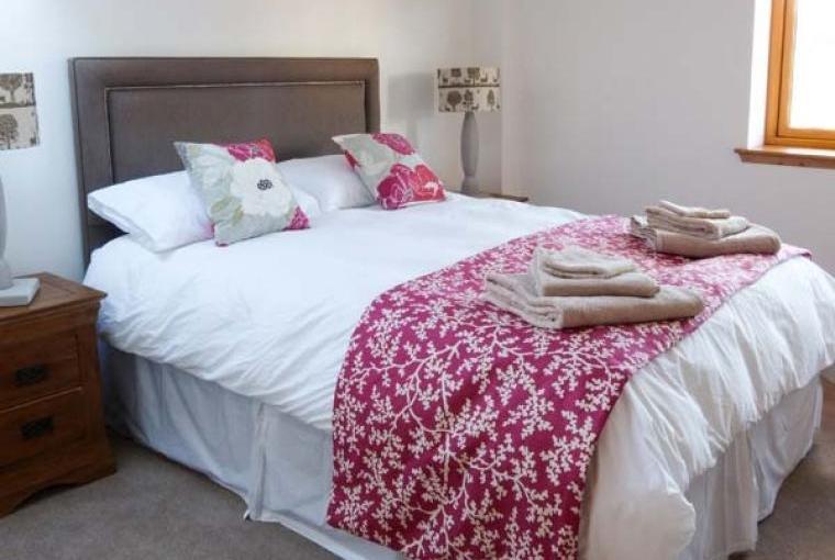 Stylish bedroom accommodation