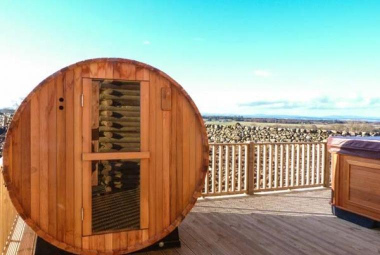 Sauna at Atlas Holiday Lodge