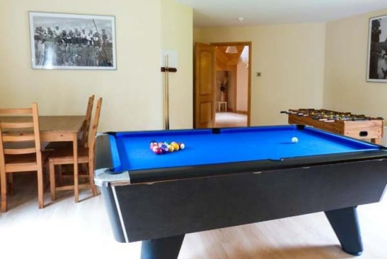 Games room at Keil View Holiday House