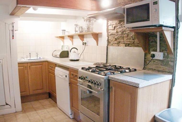 Kitchen, Farmhouse near Capel Iwan