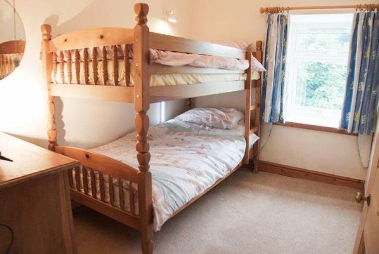 Bedroom, Farmhouse near Capel Iwan