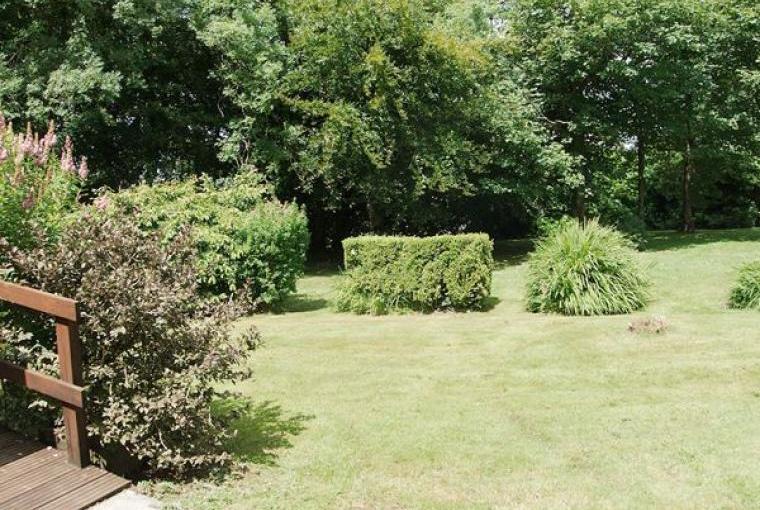 Garden at Bathroom, Farmhouse near Capel Iwan