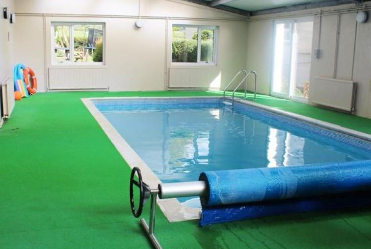 Shared on-site indoor swimming pool