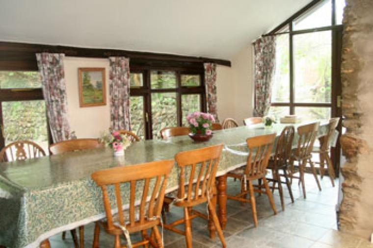 Large house for selfcatering functions in north Devon