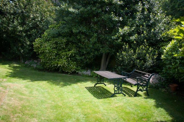 Secret Garden ideal totally private and ideal to escape in with a book.