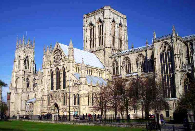 York Minster 45 minutes from the House