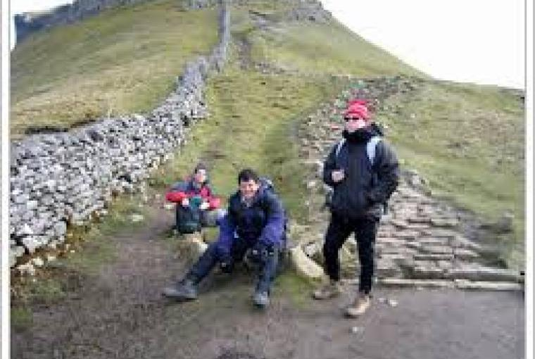 Guests  Walked the Three Peaks