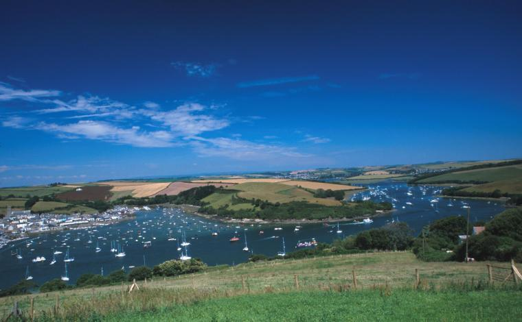 The kingsbridge salcombe estuary