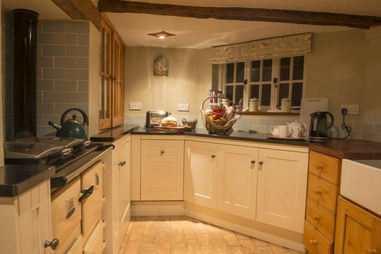 Kitchen, Wren Cottage