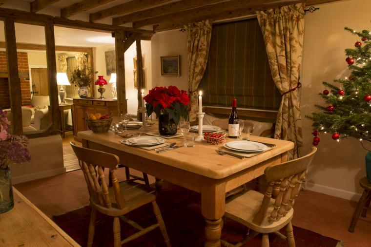 Dining area, Wren Cottage