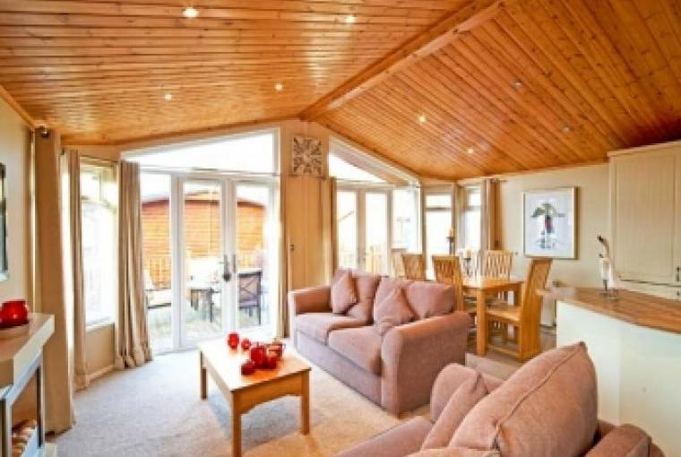 Thirlmere Holiday Chalet interior