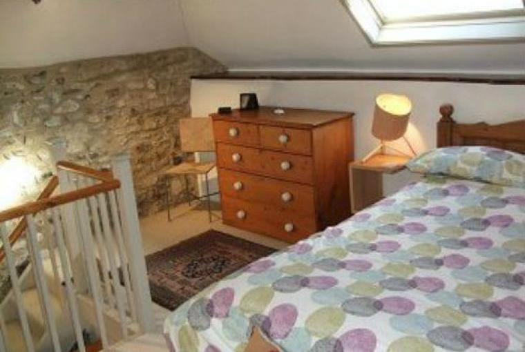 Gallery bedroom at lovely cosy self catering Barn Conversion