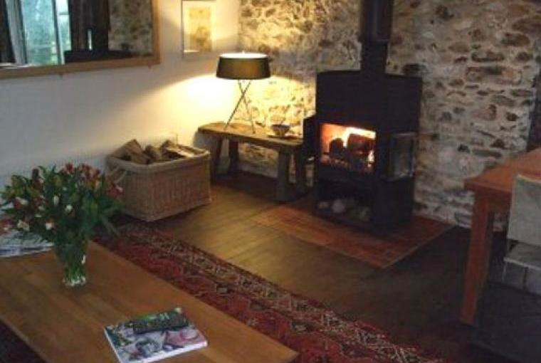 Relax by the warming woodburner
