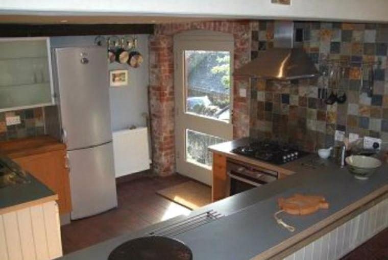 Well equipped open plan kitchen at this lovely barn conversion