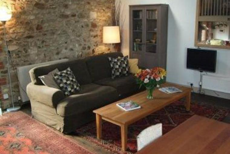 Cosy Living Room with comfy sofa at this lovely barn conversion