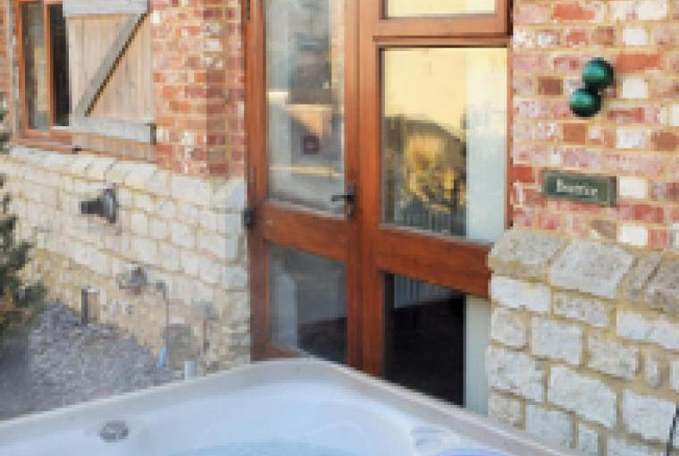Some properties offer private hot tubs