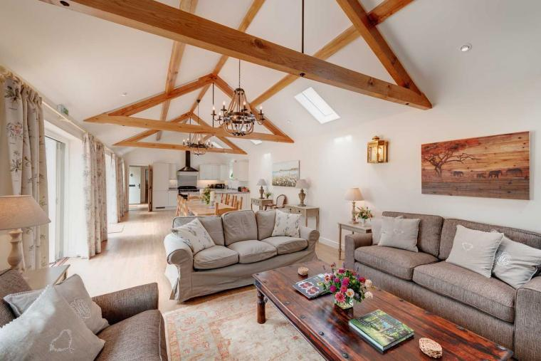 Stay in style and luxury at Langford Valley Barn