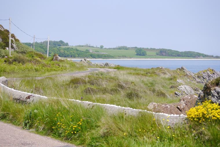 The road to Skipness - Summer