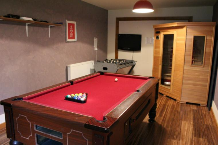 Games room for your entertainment