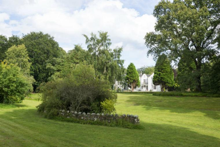 Pitcalzean House sits in generous grounds