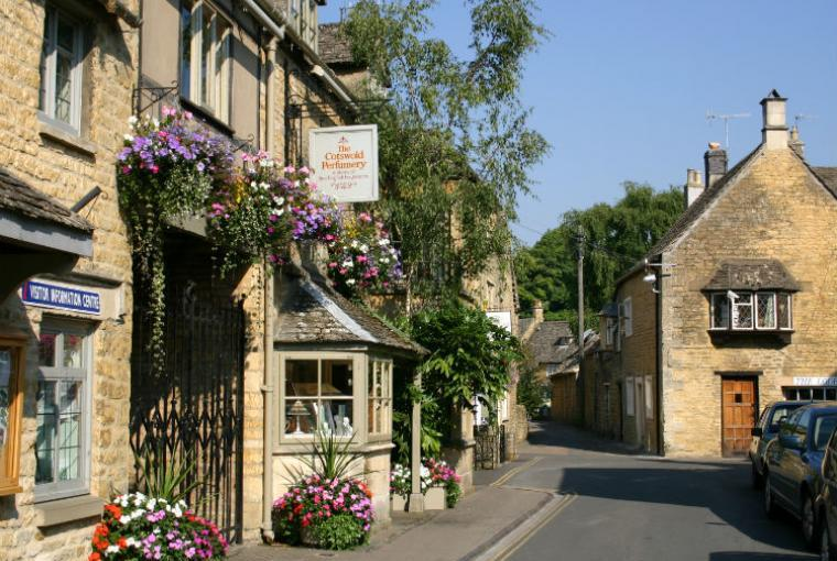 Bourton on the Water in Summer