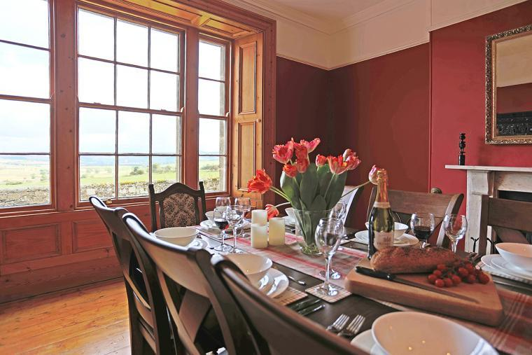 Dining room with lovely views, Follions Country House
