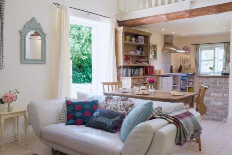 Wilf's Barn Open Plan Living area
