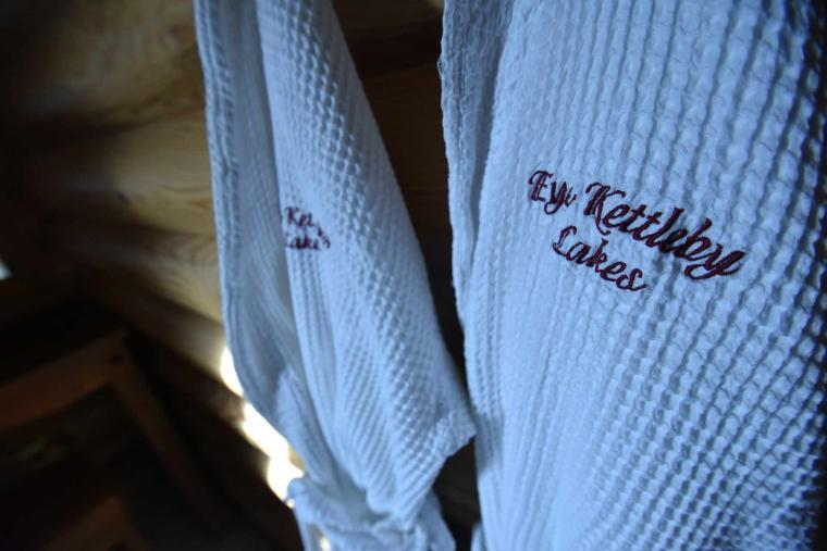 Complimentary Bath Robes For All Guests