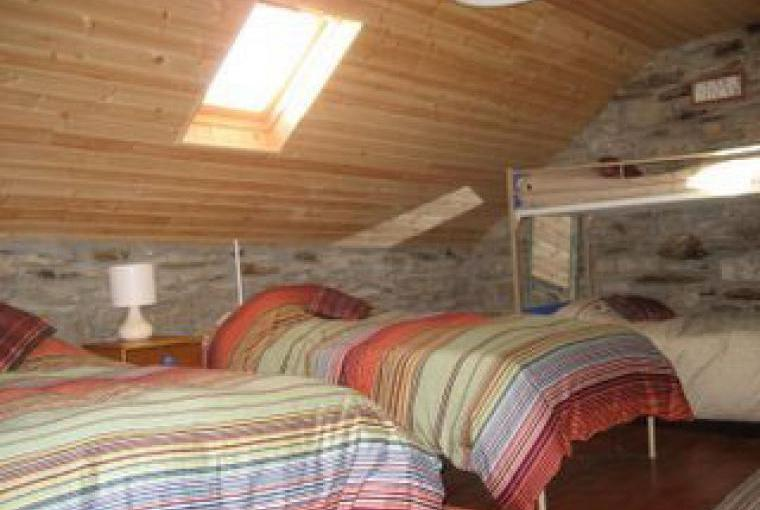 Sleeping Loft with Twin Beds & Bunks