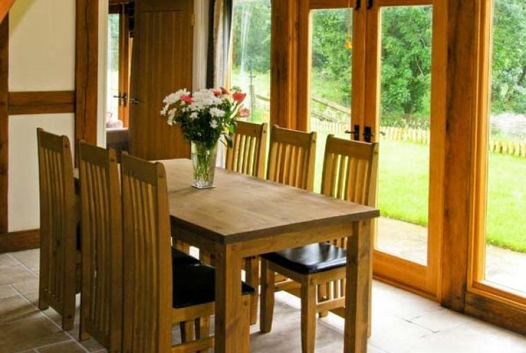 Dining area at Ty Nant House