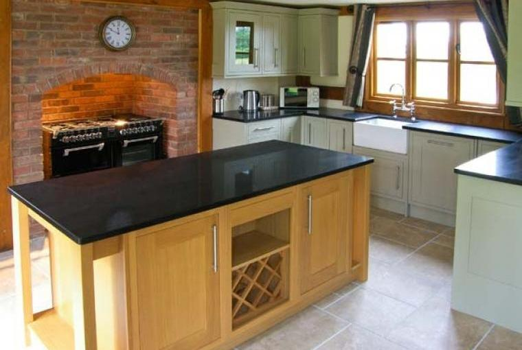 Kitchen at Ty Nant House