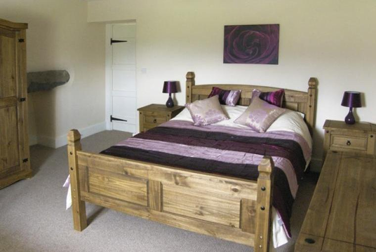 Bedrooms at Ty Mawr Farmhouse