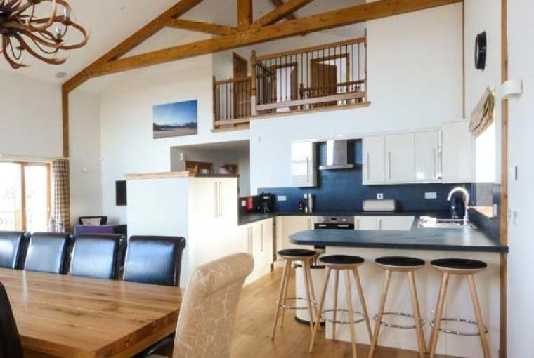 Stylish open plan living at Atlas Holiday Lodge