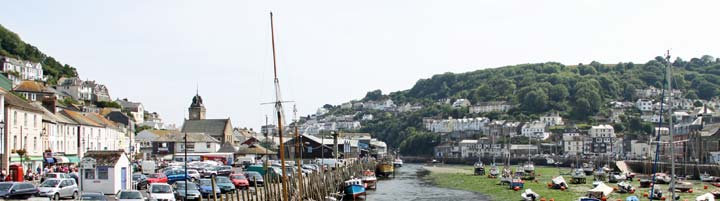 Looe in Cornwall for self catering holidays