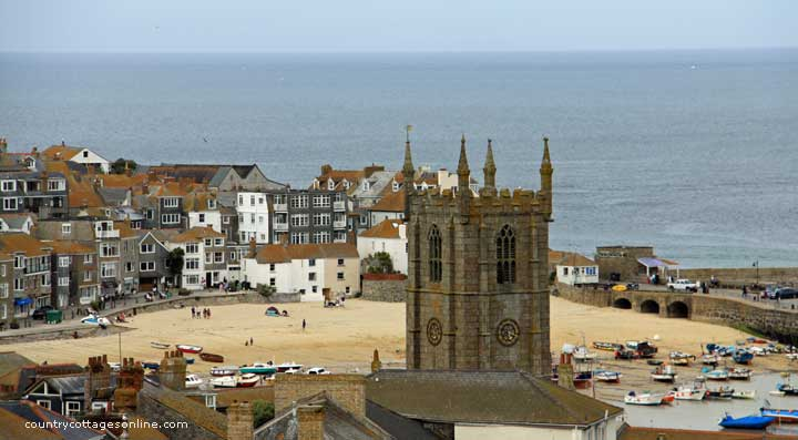 St Ives in Cornwall for self catering holidays