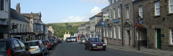 self catering holiday cottages Helston Cornwall