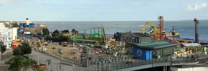 Southend on Sea for self catering holidays