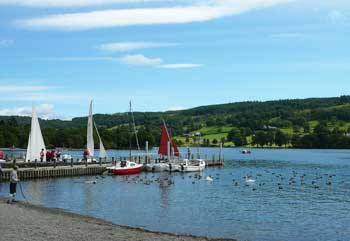 Coniston in the Lake District for self-catering cottage holidays