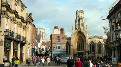 Historical York ideal for a self-catering break